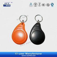 reusable plastic ABS 125KHZ RFID keytag