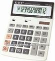 12 dígitos led de alta potência de contabilidade kt-3312 calculadora