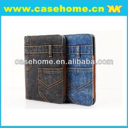 black blue jeans case for ipad mini 2