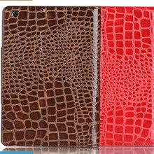 Croco gain leather fashion case for ipad mini