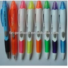 Promotional 3d plane shape pvc magnetic ball pen