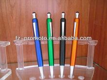 2013 nice shaped multicolorful fashional plastic&metal Ball Pen