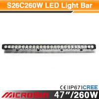 "47"" 260W Off Road LED Work Light truck rear light"