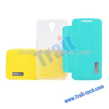 High Quality Flip Leather+PC Mobile Phone Case for Lenovo S820
