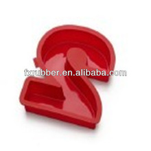 Letter/ Number 2 Silicone Baking Molds