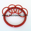 Imported Dow Corning food grade clear silicone o ring/gasket