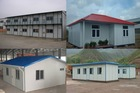 Low Cost Steel Prefabicated Houses,Sandwich Panel Prefabricated Houses