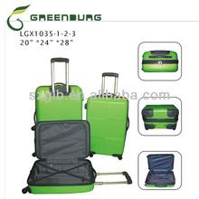 2014 Green Elegant Unique Stock Suitcase