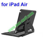360 Degree Rotatating Detachable Bluetooth Keyboard Case for iPad Air