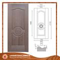 Moldeado de alta calidad de la puerta, puerta de melamina, melamina color de la piel