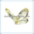 handgefertigt licht gelb k9 kristallglas schmetterling geschenke für bulk großhandel
