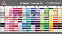 SLING Ribbon Color Card