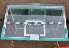 12mm tempered glass backboard with AS/NZS2208,BS6206,EN12150