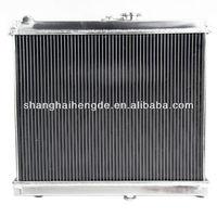 "Full aluminum radiator 2 Row (1""Tubes) For Nissan 280ZX 1981-1983 high-pressure aluminum radiator"