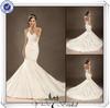 JJ3405 Mermaid Taffeta Wedding Dress With Long Trains