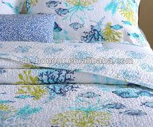 Blue Corals Hot Sale Hawaiian Quilt