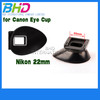 Camera Eyecup for Nikon 22mm,For Nikon D300/D200/D90/D80/D7000/D7100/D5200/D5100/D70s/D70