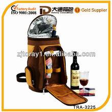fashion tote wine bottle cooler bag