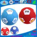 Esportes futebol e copa do mundo de promotioins gigante inflável ventilador de bola de futebol, gigante bola inf