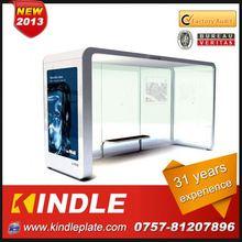 kindle professional modern solar prefabricated bus shelter