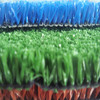Running track natural artificial turf