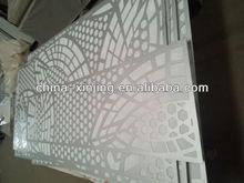 Leaves pattern perforated metal ceiling