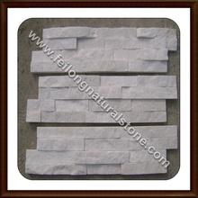 white quartzite for wall cladding