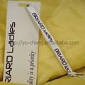 Ych-13093 vestuário de papel pendurar tags design para senhoras vestido