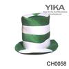 Green adult crazy hats