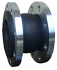 DN150 single sphere expansion rubber joint