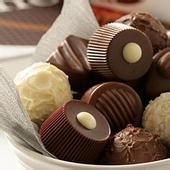 ช็อคโกแลตสีน้ำตาลผงโกโก้