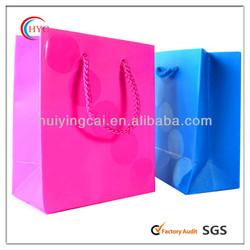 mini flat printed paper bags recycled brown paper bag