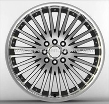 "18"" magnesium rims alloy rims from china KD587"