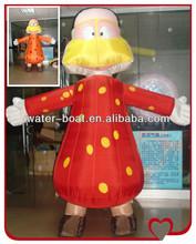 YH best price advertising simpson inflatable cartoon