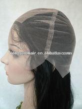 Human hair long straight full silk base lace wigs natural scalp