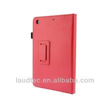 PU Book Stand Leather Case for iPad mini 2
