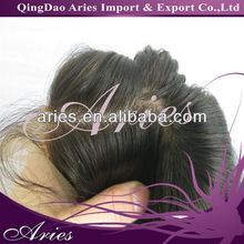 100%Natural Looking Malaysian Hair Silk Top Lace Closures
