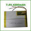 Shenzhen Battery 4200mAh 2S 7.4V Li-po Battery Lithium Rechargeable Battery for GPS,Power Bank,Cell Phone