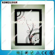 aluminum snap frame waterproof photo picture frame A0/A1/A2/A3/A4/custom size/shape