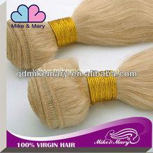 Unprocessed high quality virgin peruvian human hair extenion