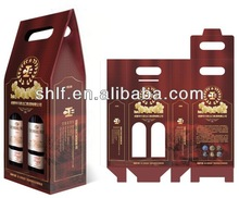 die cut handle shopping bag