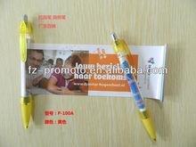 Advertising Flyer Pen Banner Pen For Promotion 2013 new style hot sale promotional lipstick pen