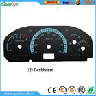 2D Digital Dashboard Widgets For Universal Car