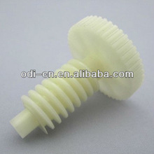 ISO OEM Injection Molded Plastic Gears with Shaft, Guide Gear