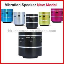 360 degree Mini Vibration Resonance MicroSD/TF Card Slot Music Speaker FM P3 PC Phones