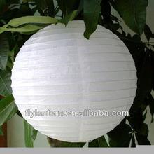 Round Chinese hanging paper lantern for wedding decoration