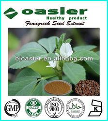 100% Natural Fenugreek Extract 50% Furostanol Saponin