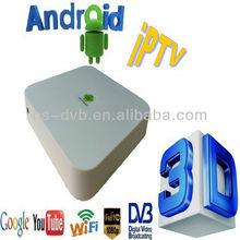 az america s1001 plus android dvbs-2 built-in Wifi Cortex A9 dual core google tv box az android mini hs1 PK q sat q13 g
