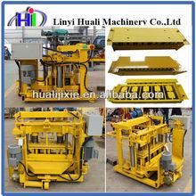 high profit Mobile block machine product profit brick production line QMJ4-30