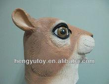 2013 new golden fish mask costume latex animal mask adult squirrel Mascot Costume